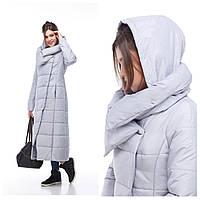 Пальто ниже колена зимнее большие размеры, прекрасно сидит на любой фигуре 42-54
