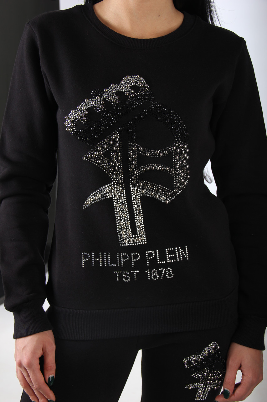 Теплый спортивный женский костюм в стиле Philipp plain 2