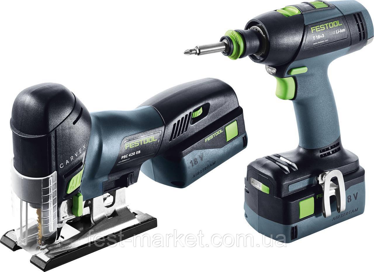 Монтажный комплект T 18+3/PSC 420 Li 5,2 I-Set Festool 575696