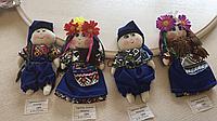 """Іграшка новорічна різдв'яна """"Українка Дівчинка і Хлопчик"""" 15-20 см"""