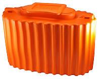 Кан для живца Колесник оранжевый