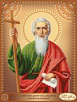 Схема для вышивания бисером Tela Artis Святой Апостол Андрей Первозванный ТД-104
