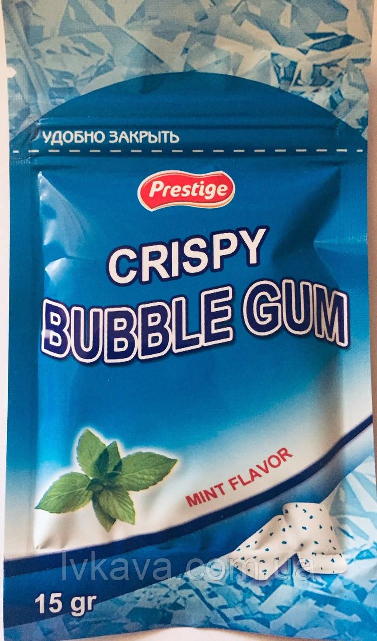 Жевательная резинка Crispy PPU мята, 15 гр