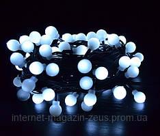 Гирлянда светодиодная нить Шарики (13мм) 10м (100Led)