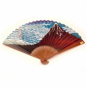 Японське віяло «Червона гора Фуджі»