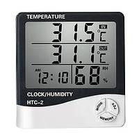 Цифровой термометр с гигрометром HTC-2, фото 1