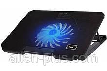 """Підставку-кулер для ноутбука HAVIT HV-F2030 (12-17""""), USB, black, регулятор оборотів, підсвітка"""