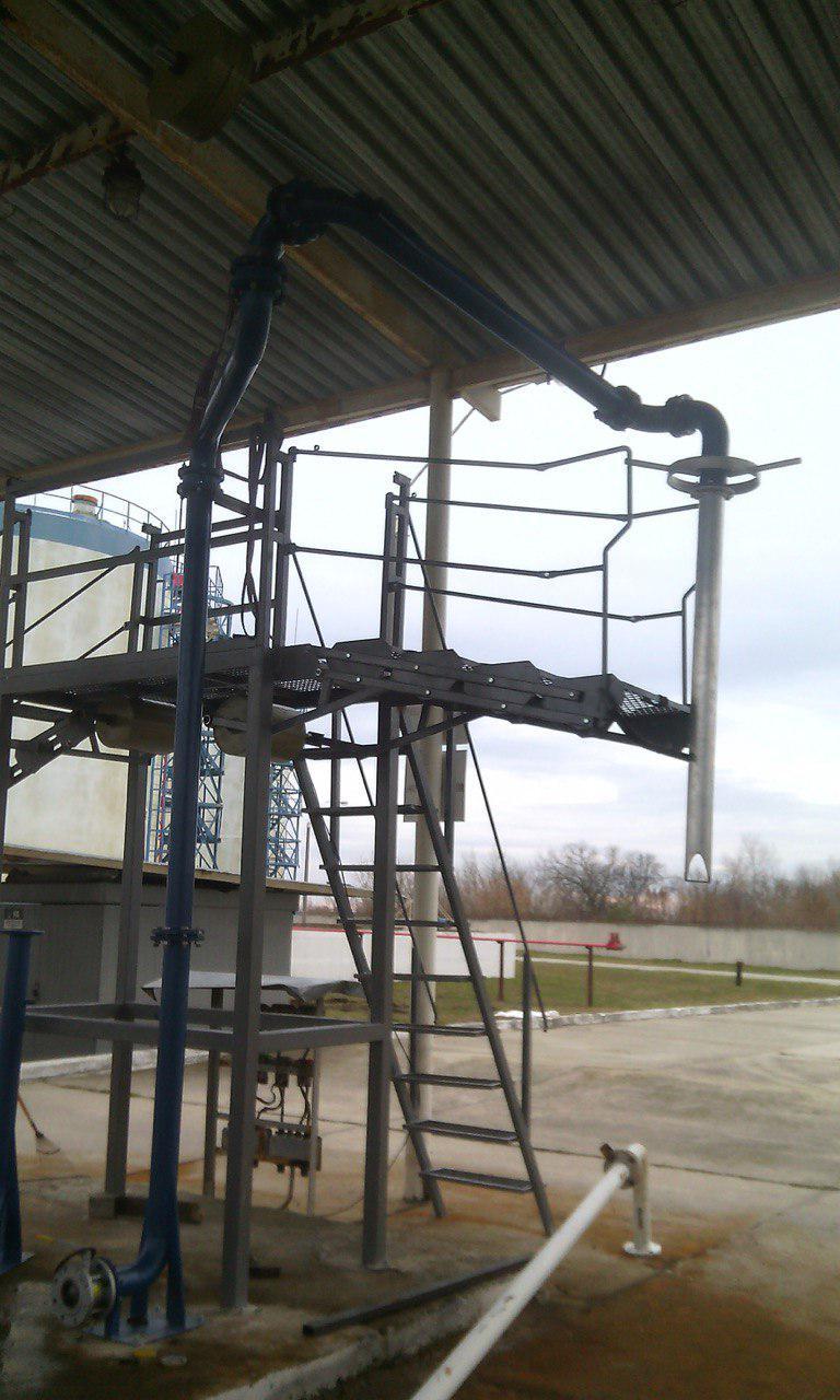 Стояк автоналивной телескопический (САТ-80)