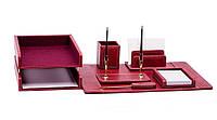 Набор офисных принадлежностей для кабинета женщины-Red Eye - Набор с гравировкой на 7 эл.
