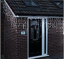 Гирлянда светодиодная LTL Sople занавес 300 led длина 9.6 метра холодная белая + переходник, фото 3