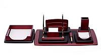 7-штук набор офисных принадлежностей Rassmusen - Набор с гравировкой на 7 эл.