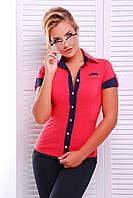 """Стильная женская блуза-рубашка """"Кристи""""- 3 цвета."""