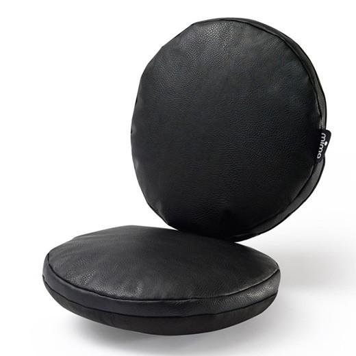 Подушка на сидение к стульчику Mima Moon, цвет Black