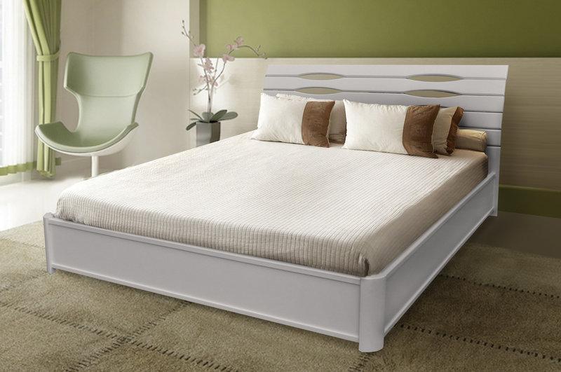 Кровать Мария с подъемным механизмом 180 х 200 см (белый)