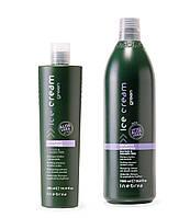 Inebrya Успокаивающий шампунь для чувствительной кожи головы, Inebrya Ice Cream GREEN Sensetive Shampoo 1000мл