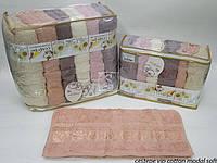 Набор махровых полотенец Cestepe (70х140 см) 6 шт.