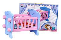 Кровать с постелью для куколки