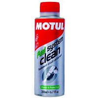 Промывка топливной системы мотоциклов Motul Fuel System Clean Moto 200мл