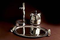 Роскошный набор инструментов для ванных комнат - 1.017.12 - контейнер для ватные диски