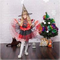 Новогодний  костюм ведьмы