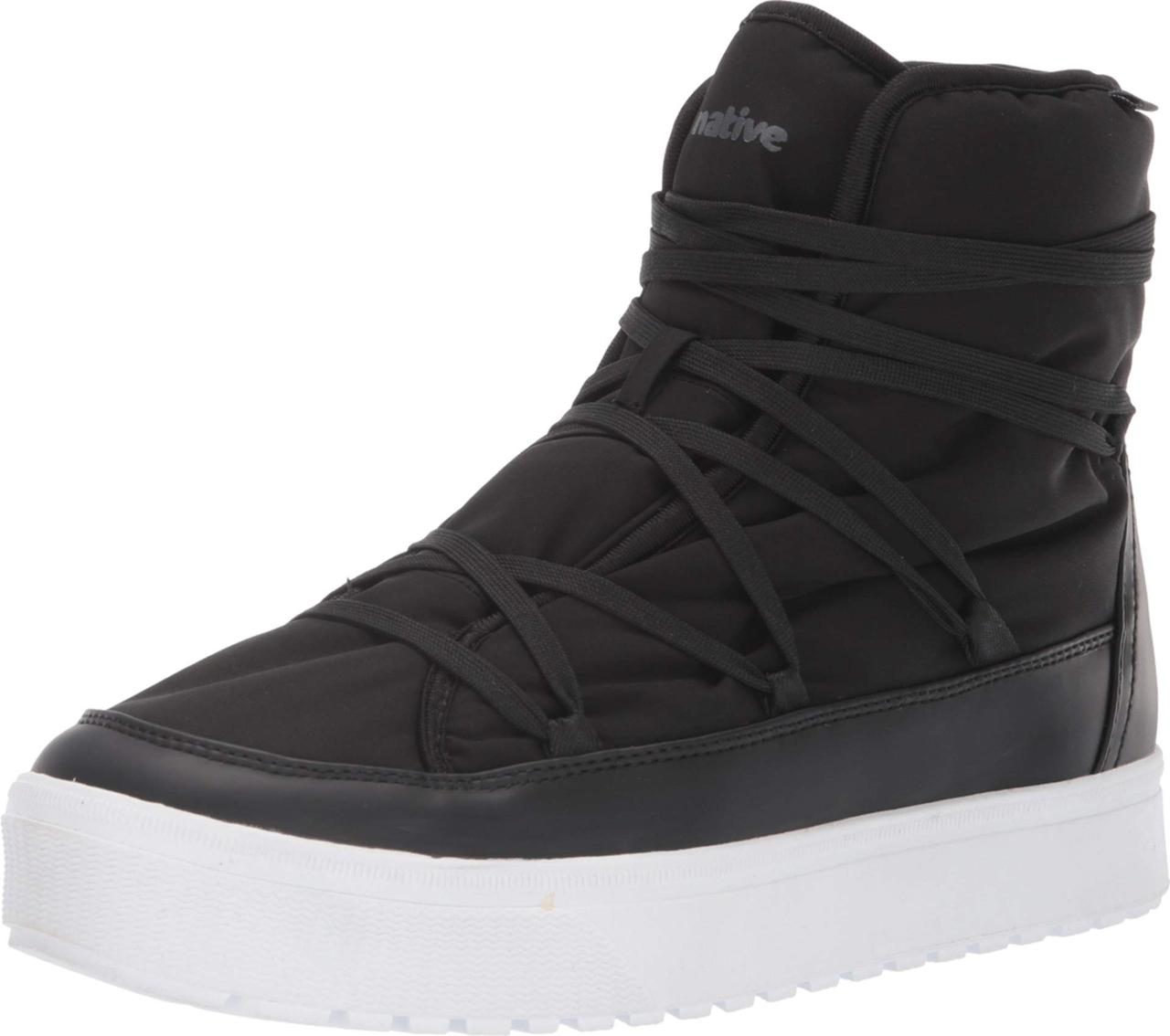 7509100c5203 Кроссовки/Кеды (Оригинал) Native Shoes Chamonix Jiffy Black/Shell White