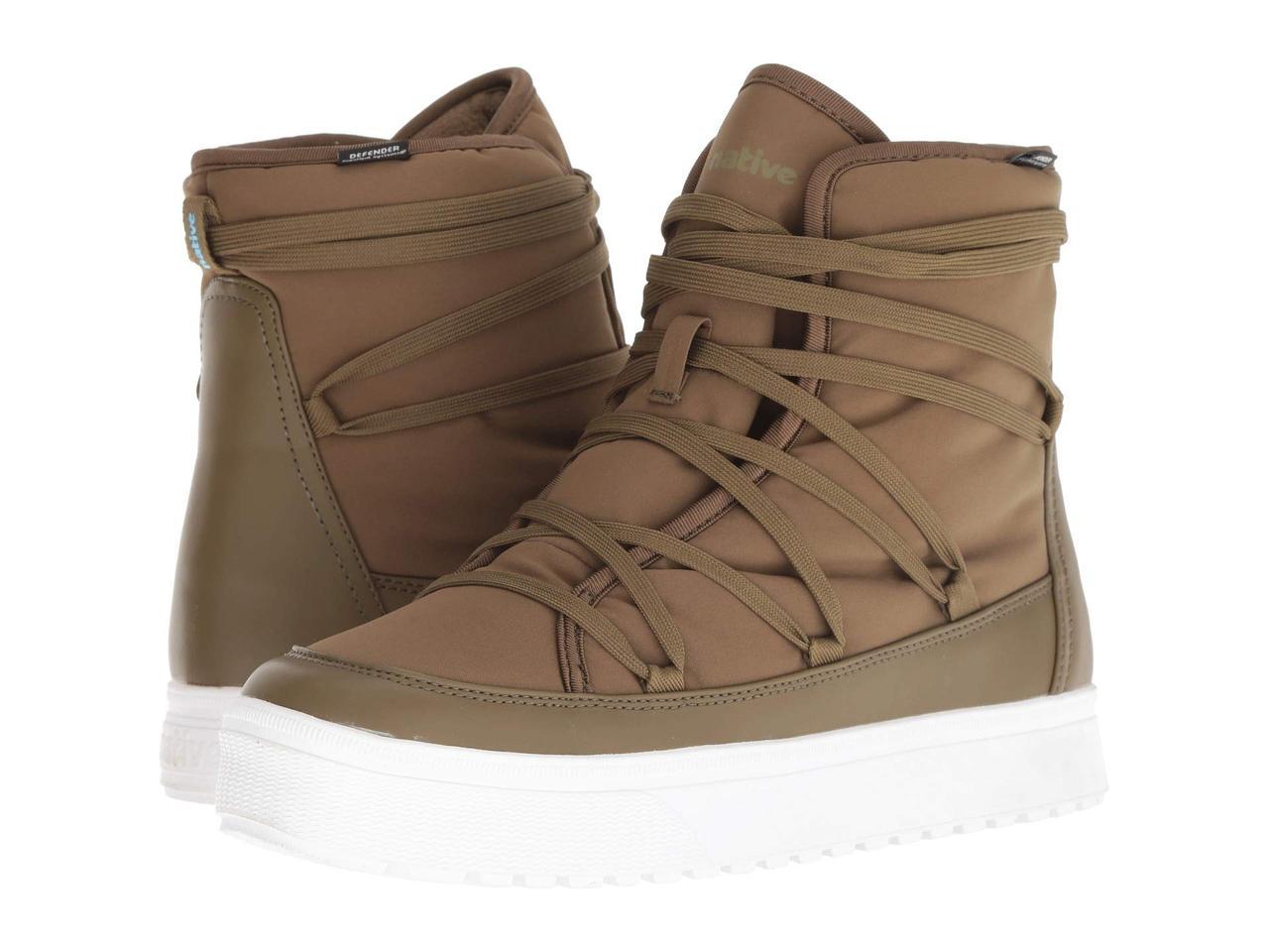 b14e3d320d21 Кроссовки/Кеды (Оригинал) Native Shoes Chamonix Utilli Green/Shell White