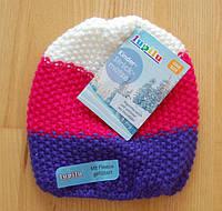 Зимняя шапка флисовая подкладка 2/4 года Lupilu Германия для девочки