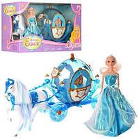 Карета Принцессы 218А (лошадь, кукла, свет)