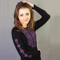 Женская вышиванка с длинным рукавом Кружево 5 | Жіноча вишиванка з довгим рукавом Мереживо 5