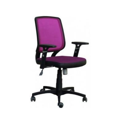 Кресло Онлайн Сетка бордовая