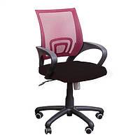 Кресло Веб сиденье Сетка черная/спинка Сетка красная, фото 1