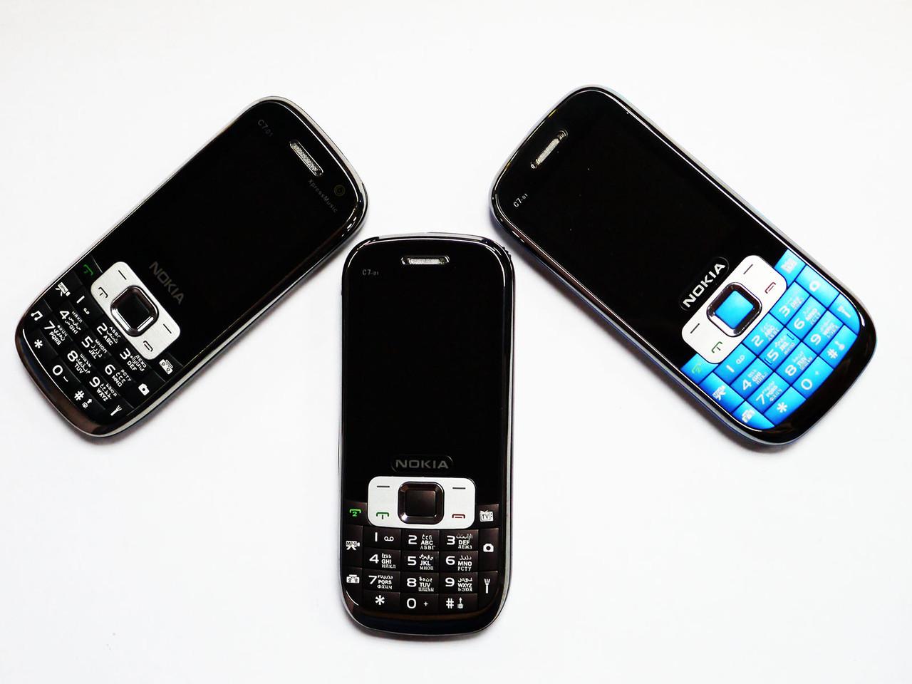 Телефон Nokia C7-01 2Sim - Металлический корпус - Fm - Bt - Cam