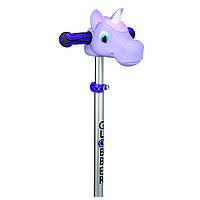 Насадка на руль Единорог фиолетовый, 51-54см (XS), 527-103, GLOBBER