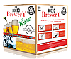 Стартовый комплект домашняя микро-пивоварня Coopers MAXI на 23л пива