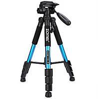 Профессиональный штатив ZOMEI Q111 из алюминиевого сплава для фото видео съёмки 55 дюймов, фото 1