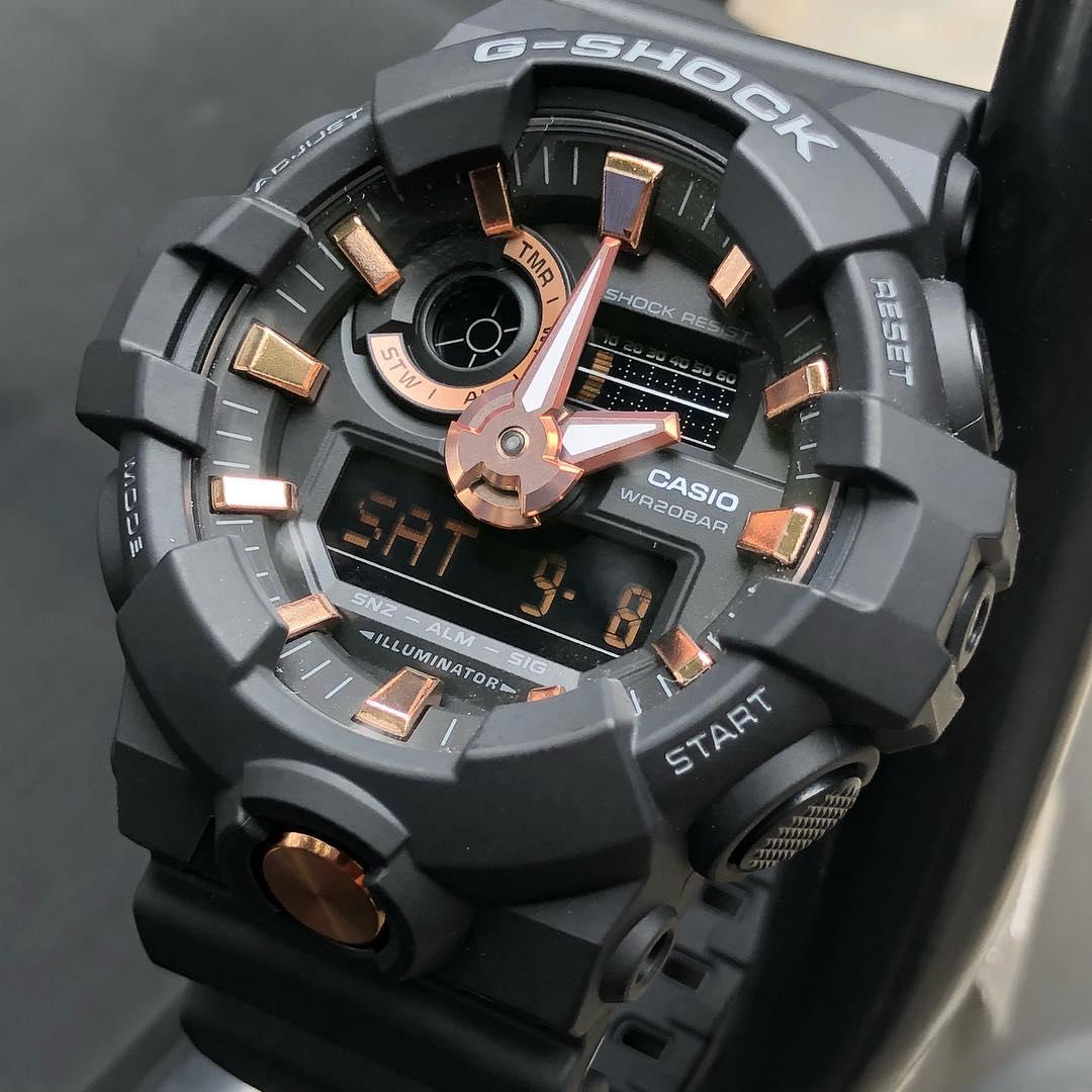 Часы Casio G-Shock GA-710B-1A4