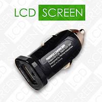 Автомобильное зарядное устройство Remax USB 2.1A Black