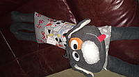 """Сувенірна подушка іграшка дитяча для дивану """"Собачка"""""""