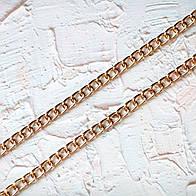 Цепочка металическая  крупная Z10-3, цвет золото