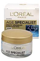 """Увлажняющий дневной крем против морщин """"Age Specialist 35+"""", L'Oreal Paris, Франция"""