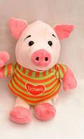 Мягкая игрушка Свинка в кофте Loves 18 см №005212 SO
