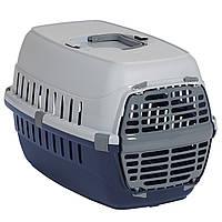Переноска для собак и котов Роуд-Раннер Moderna, 51х31х34 см, черничный, T100331