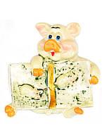 Магнит на холодильник Свинка денежная №12 SO