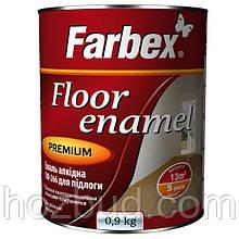 Емаль алкідна ПФ-266 для підлоги Farbex жовто-коричнева 2,8 кг