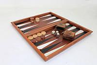 Эксклюзивный набор деревянный для игры в нарды - 49x44 см