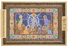 Схема для вышивки бисером «Преображение Господне»