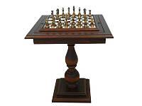 Деревянный стол шахматный, украшенное alabastrem с геометрическими фигурами, декоративными 153BW+TAV84