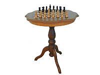 Деревянный шахматный стол+деревянные фигуры G1026+TAV90Z