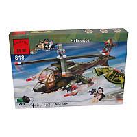 Конструктор Brick 818 Военный вертолет