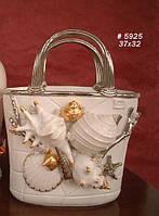 Изысканный ваза в виде сумки